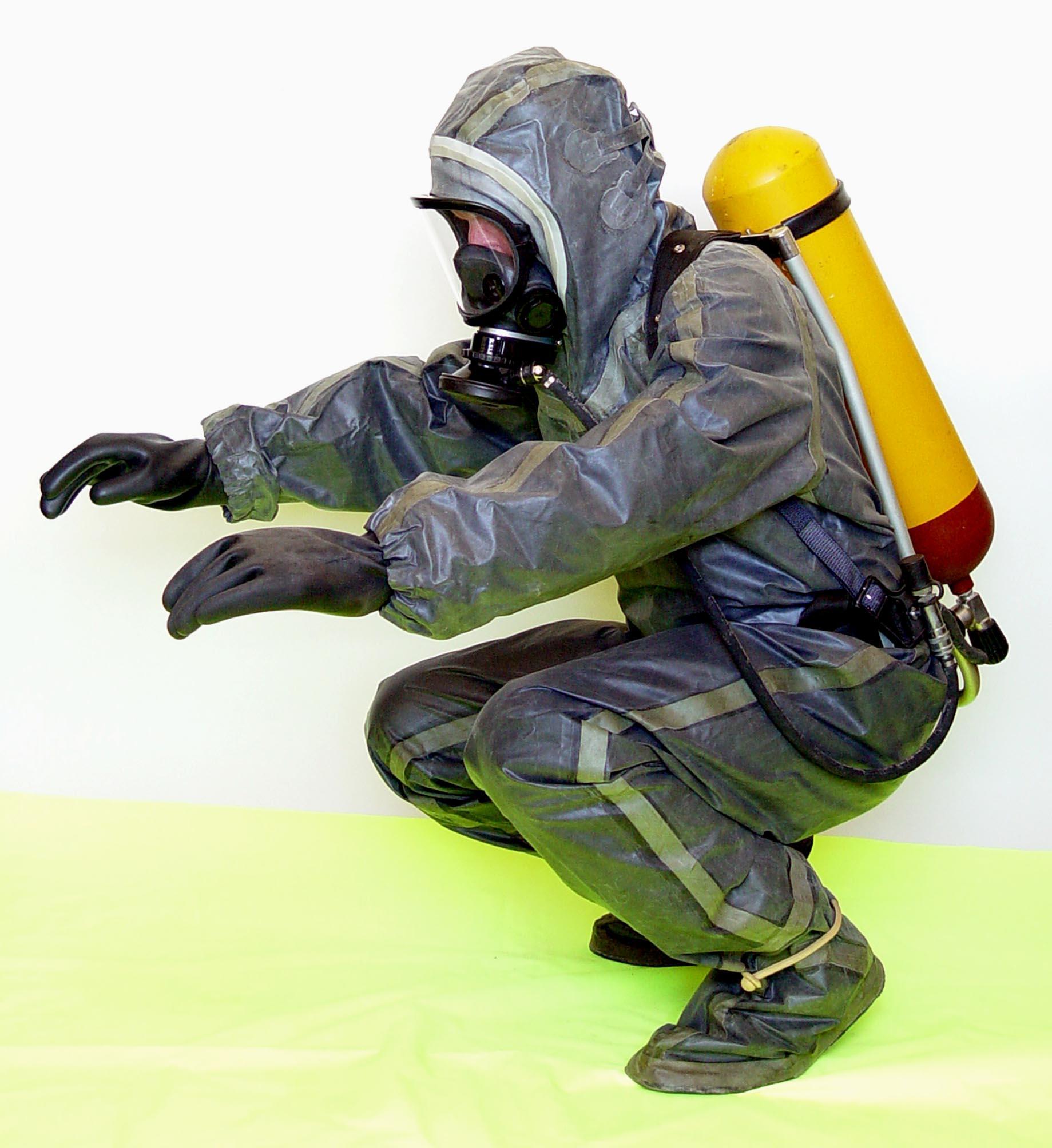 Противорадиационный костюм фото